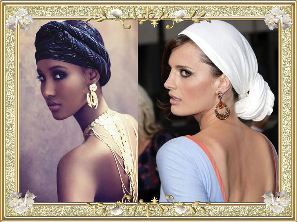 Attractive Bandana Hairstyles Black Women