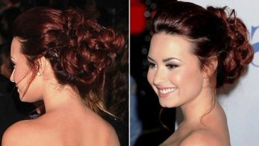 Attractive Prom hairstyles for buns hair 2016-2017