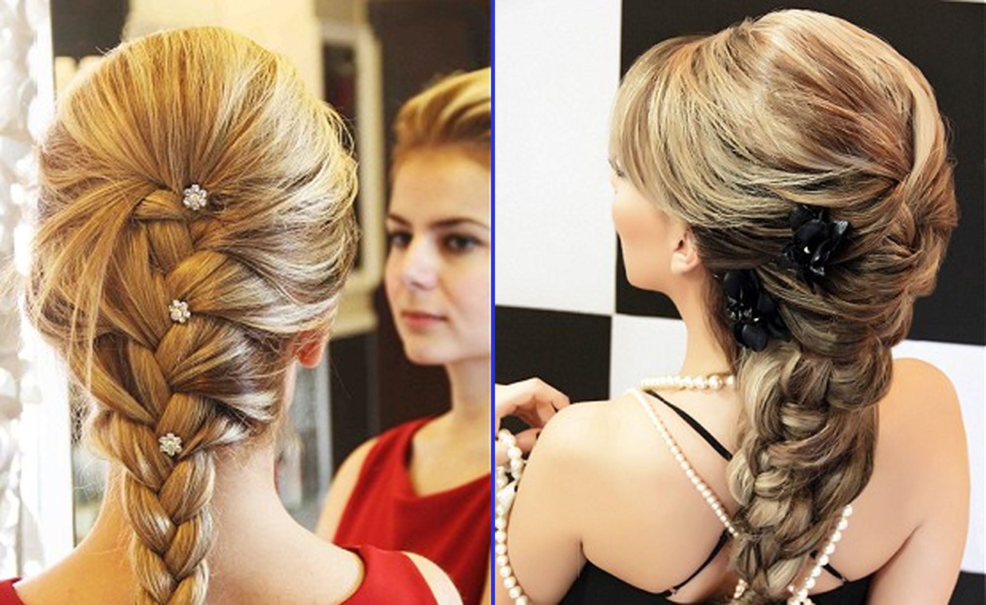 Braided hairstyles 2017 with beaded
