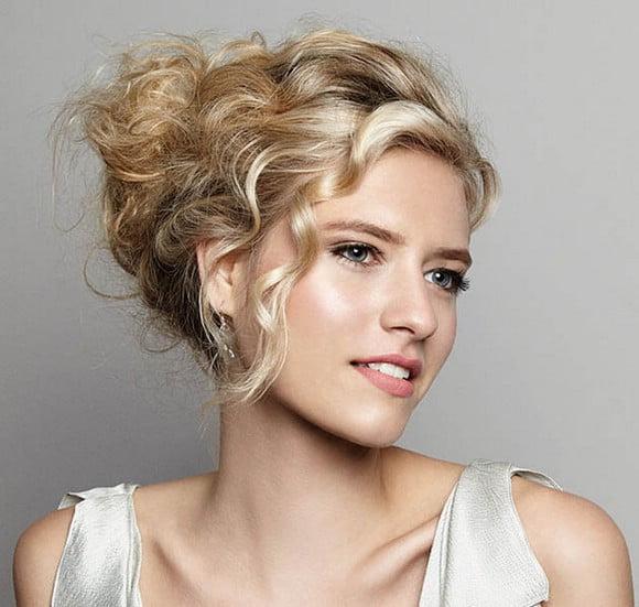 Charming Bun Hairstyles 2017 Blonde hair for women