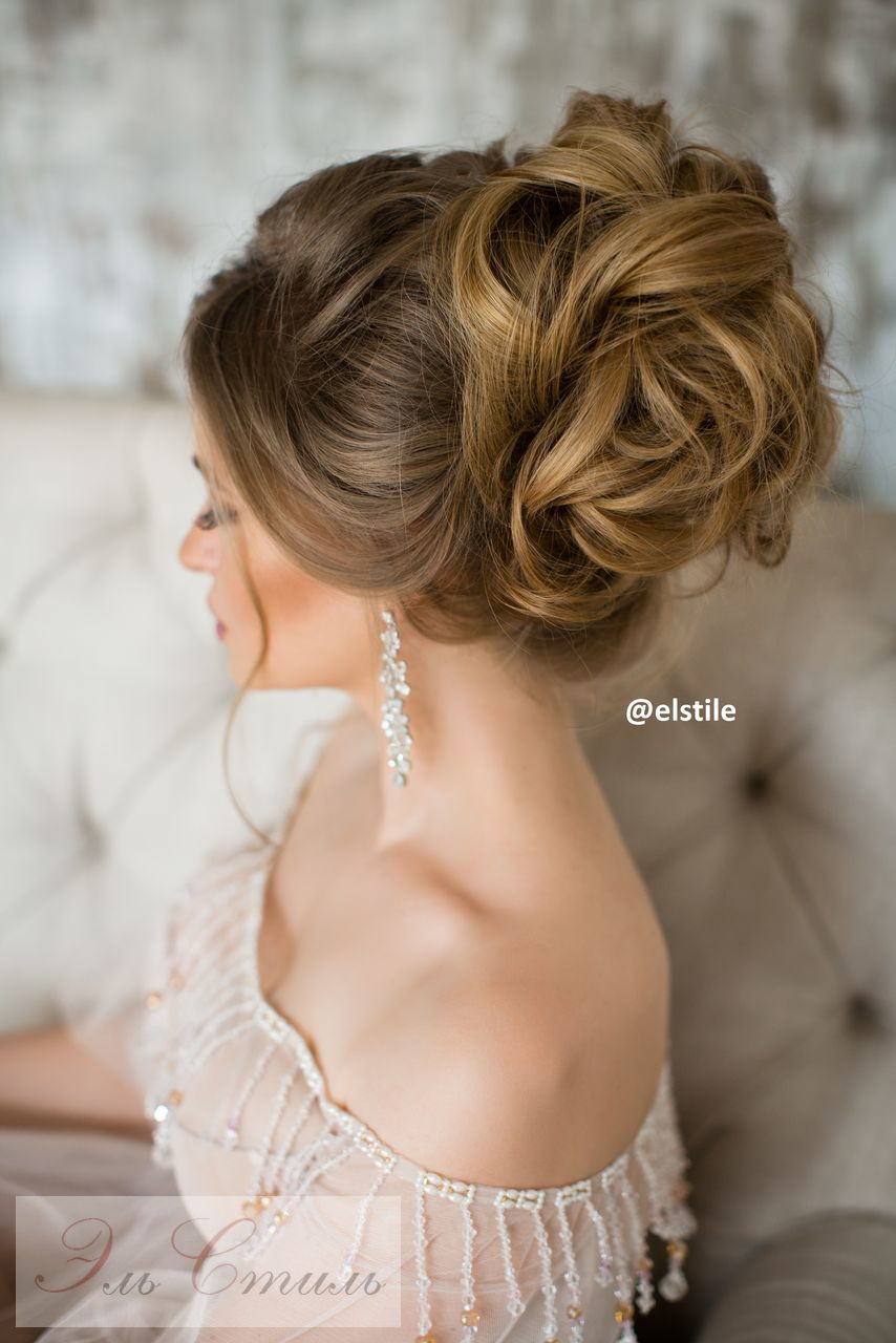 Charming Knob Hairstyles for Bride 2017 Blonde Hair