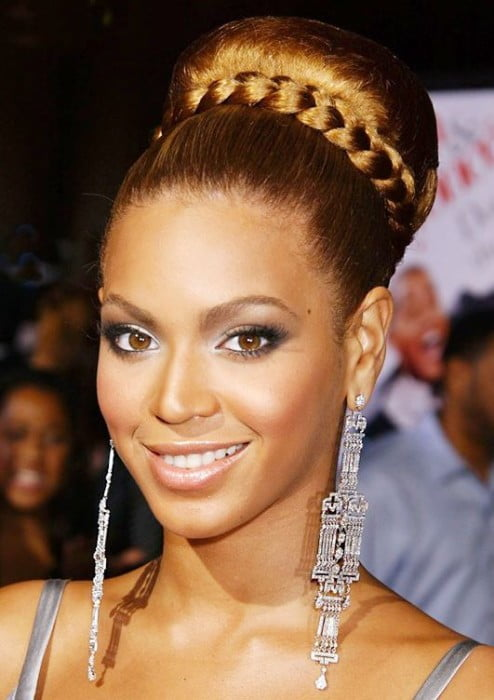 Charming Prom hairstyles 2017 braided buns hair for Black Womenv