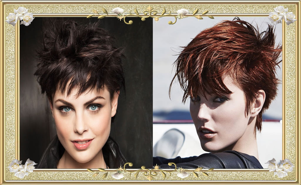 Charming Shag Hairstyles Haircuts for Brown and Black Hairs
