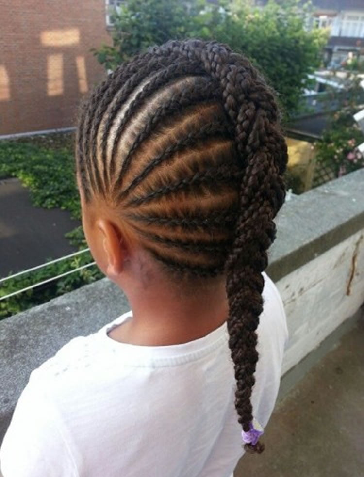 Youtube Updo Hairstyles For Long Hair: 64 Cool Braided Hairstyles For Little Black Girls