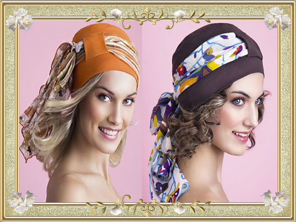 Excellent Bandana Hairstyles for Curly Hairstyles
