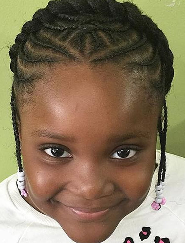 Hair braiding styles for little black girls