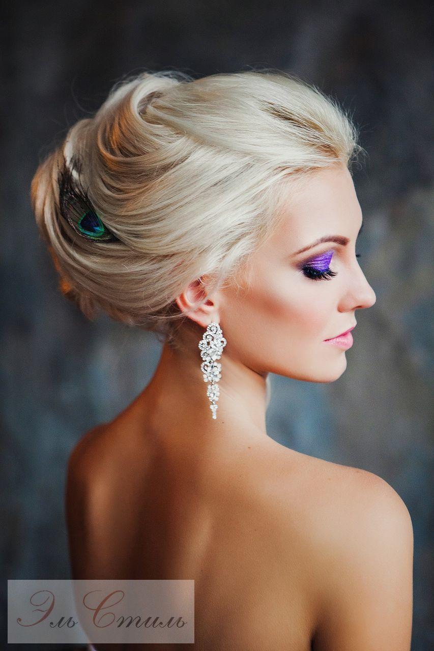 Incredible Bun Straight Hairstyles 2017 White hair