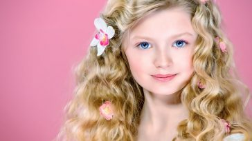 Incredible Cute Little Girl Wavy-Curly Hairstyles for School