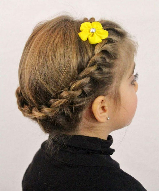 Little Girls Braided Hairstyles Long Lenght 2016-2017