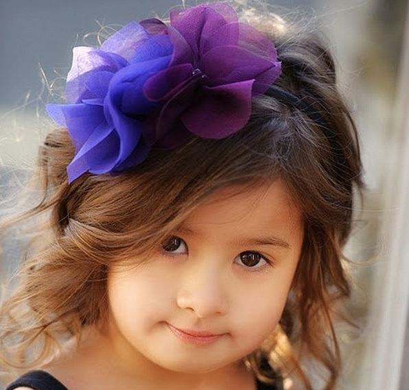 Little Girls Hairstyles Haircuts 2016-2017 with buckle