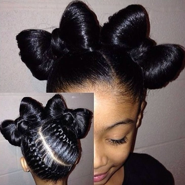 64 Cool Braided Hairstyles For Little Black Girls 2020