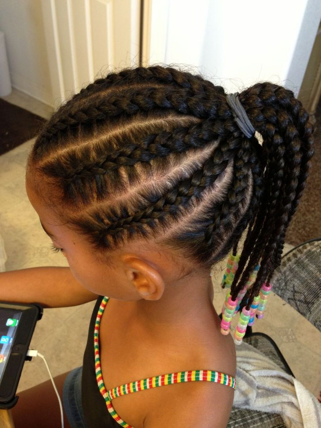 Little Black Girl Hairstyles For Natural Hair