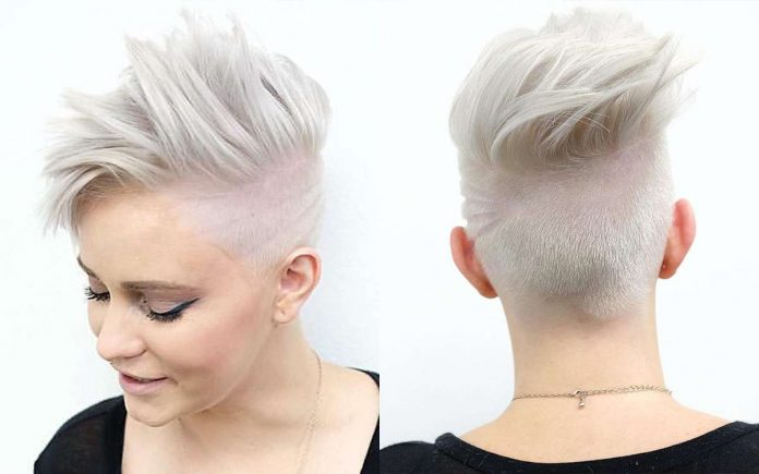 Modern Short Grey Hairstyles for Women 2017