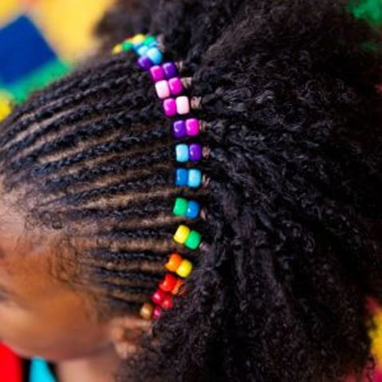 64 Cool Braided Hairstyles For Little Black Girls Page