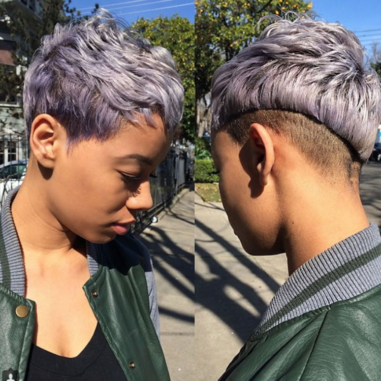 Short Hairstyles For Black Women 70 Best Models 2018