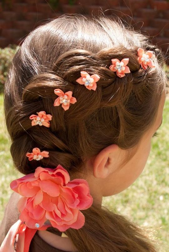 Braided Hairstyles For Girls With Beaded 2016-2017