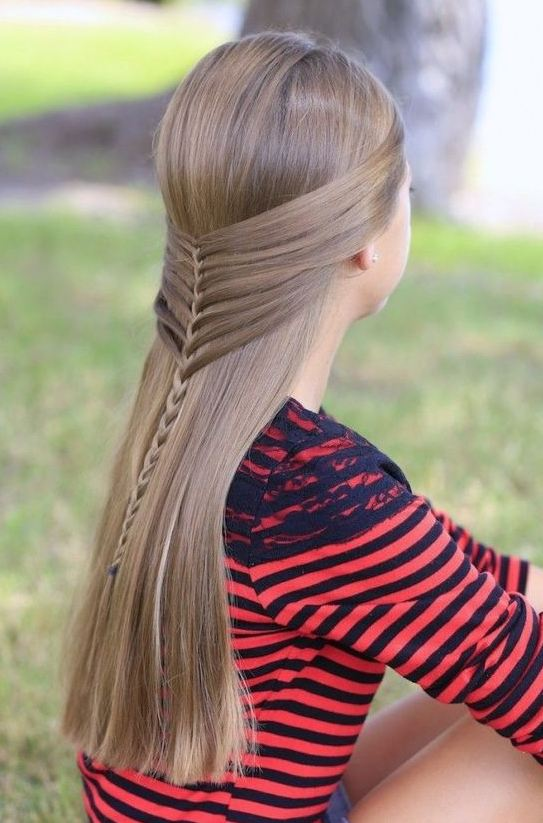 Braided School Hairstyes for Blonde Girls 2016-2017