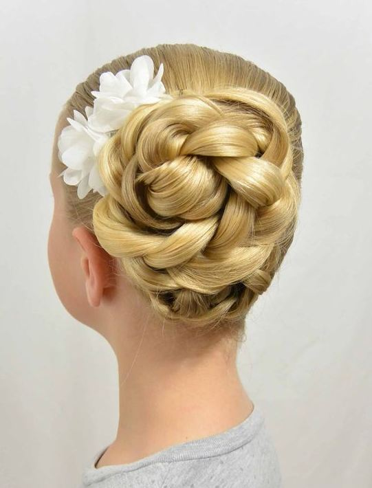 2017 Braided Hairstyes for Blonde School Girls 2016-2017