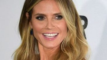 Heidi Klum Long Hairstyles and Haircuts Wavy Cut