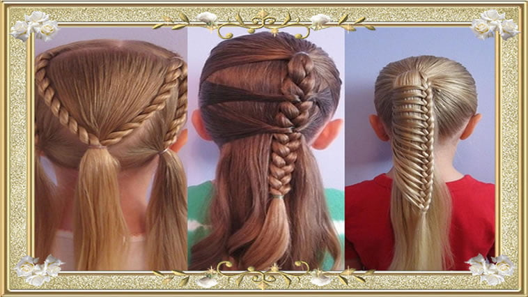 2017 Hairstyles for School Girls