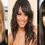2017 Hairstyles with bangs for every face shape