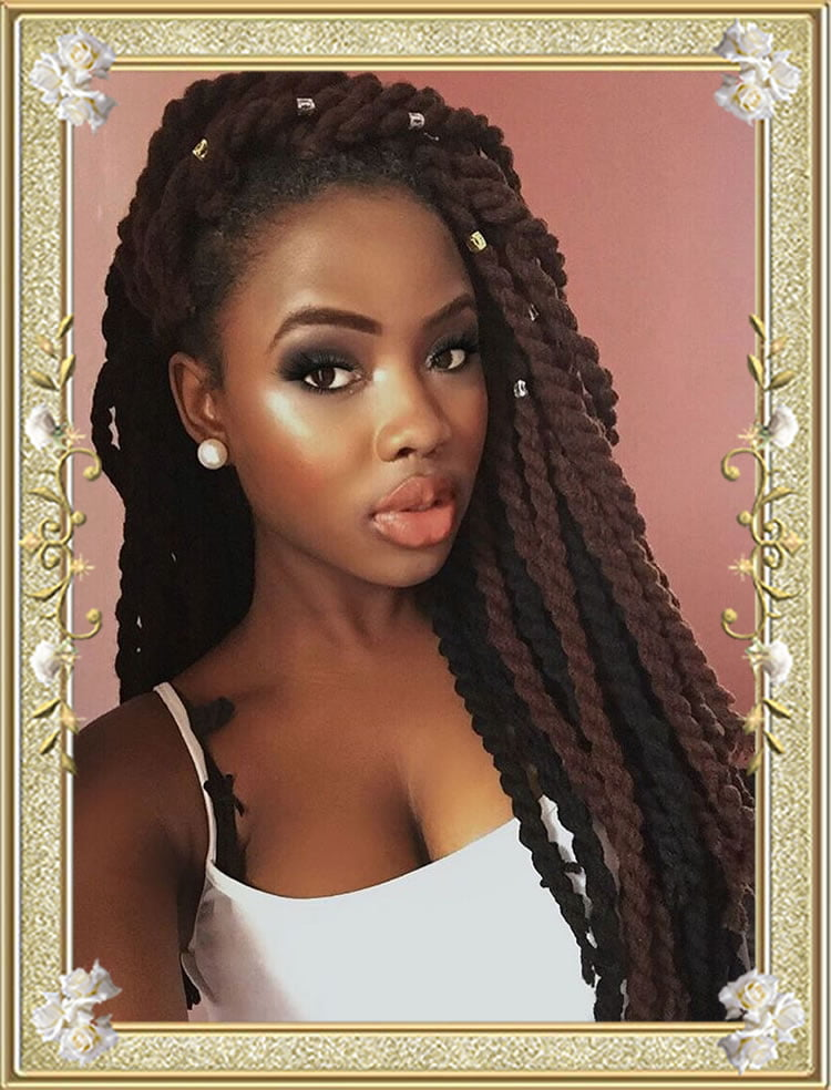 African box braids hairstyles for women
