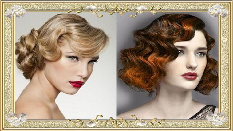 Beautiful Medium Wavy Vintage Hairstyles