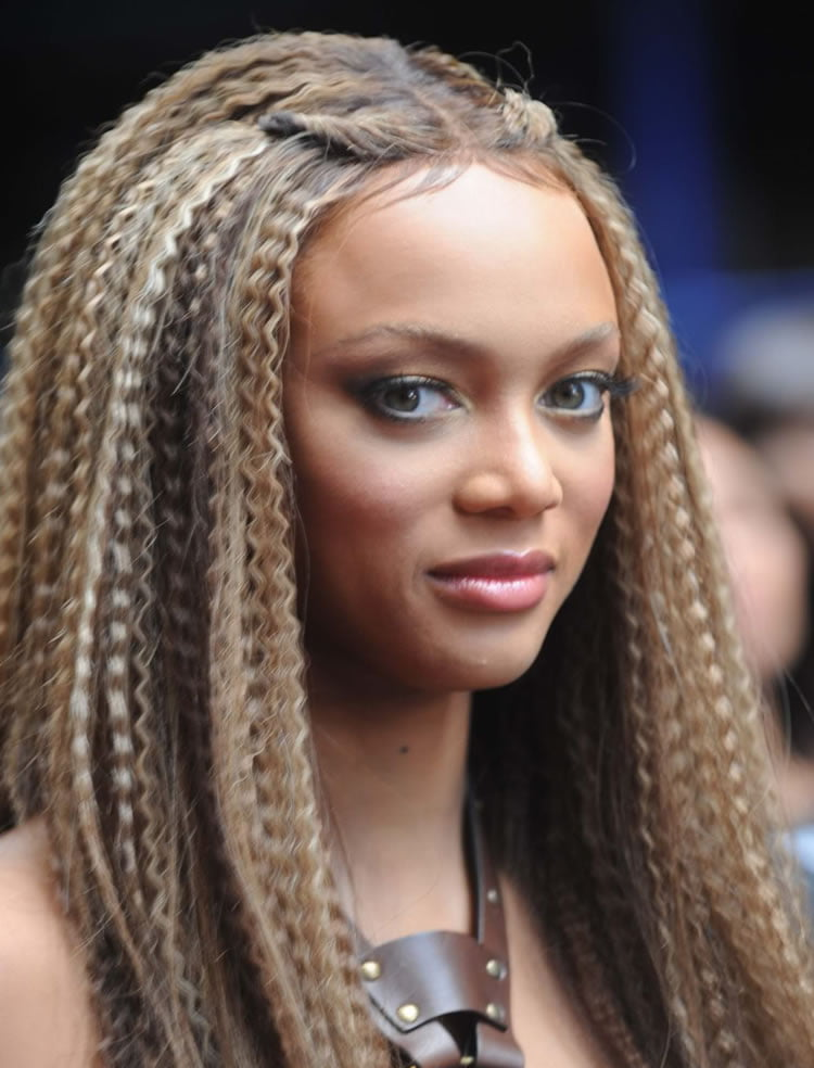Best black women crimped hairstyles for winter 2017
