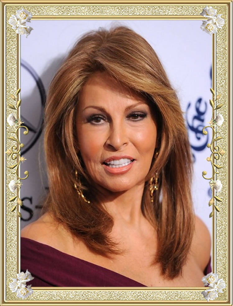 Brown Long Hairstyles for Women Over 50