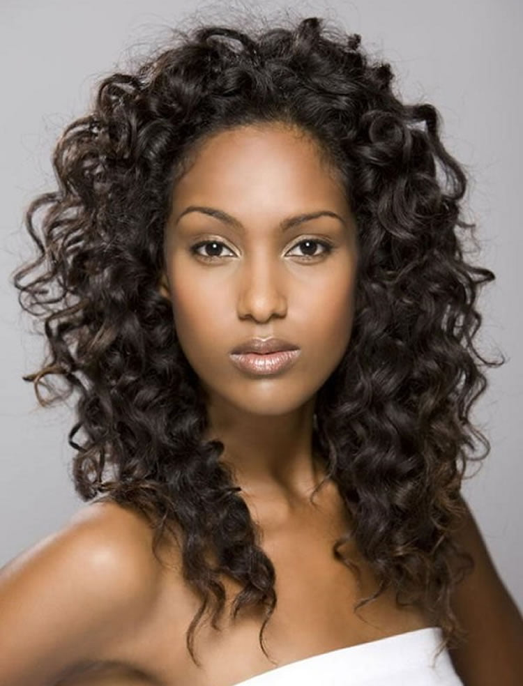 ... Charming Perm hairstyles for black women with oval faces
