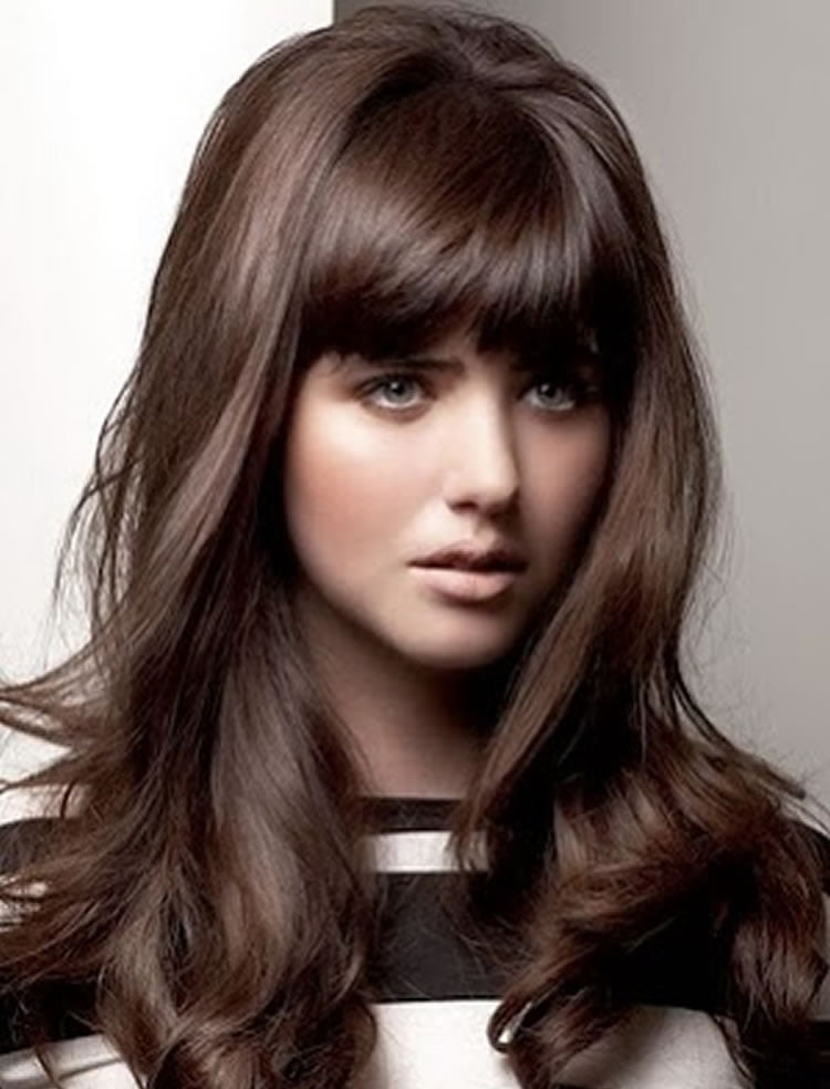 Chic 2017 hairstyles with bangs step by step