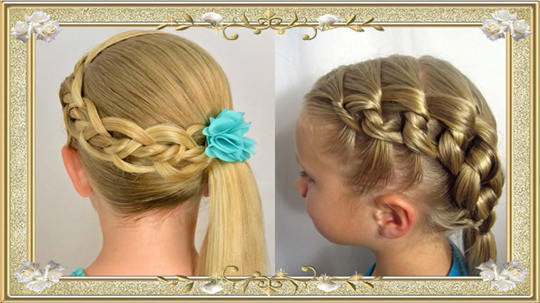 Braided Hairstyles for Girls for School