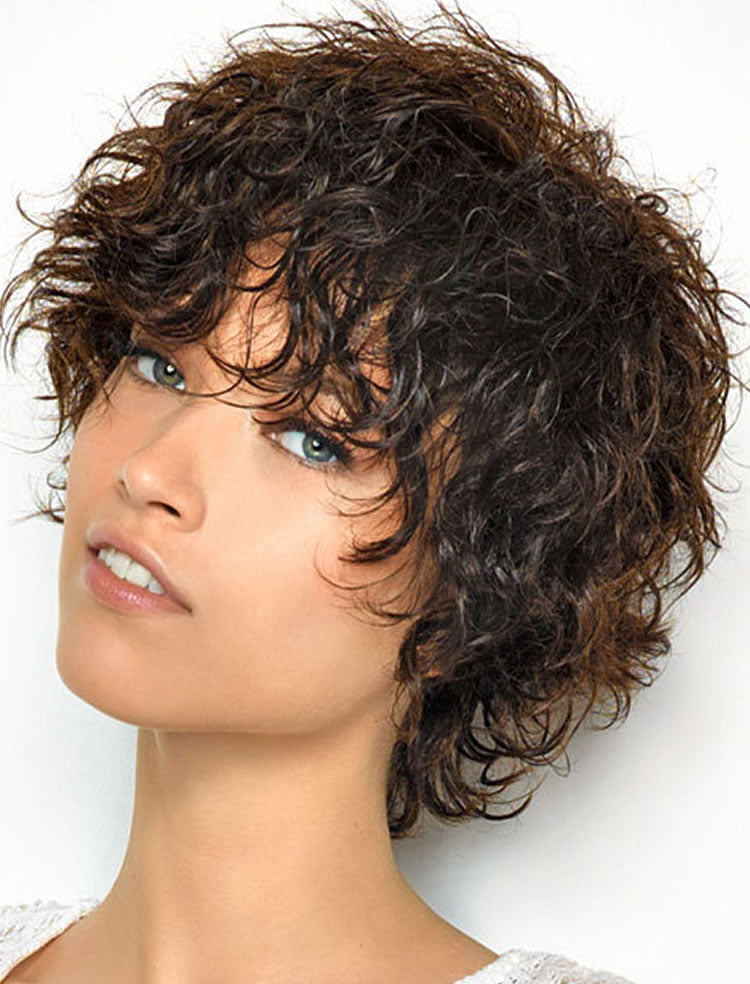 Curly Hair Pixie Cut Hairstyles Hairstyles