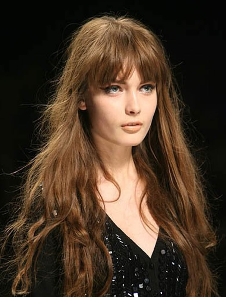 100 Cute Hairstyles with Bangs for Long, Round, Square Faces - Page 2 - HAIRSTYLES