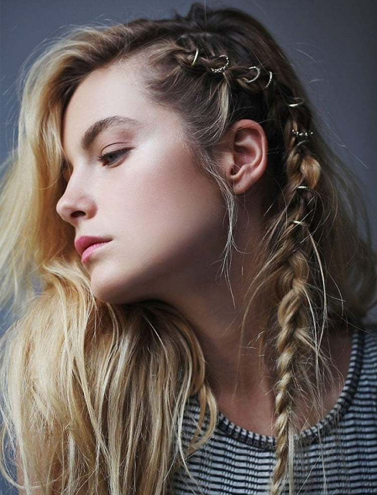 side styles for long hair 100 side braid hairstyles for hair for stylish 6436 | Cute Hairstyles for long hair with side braids