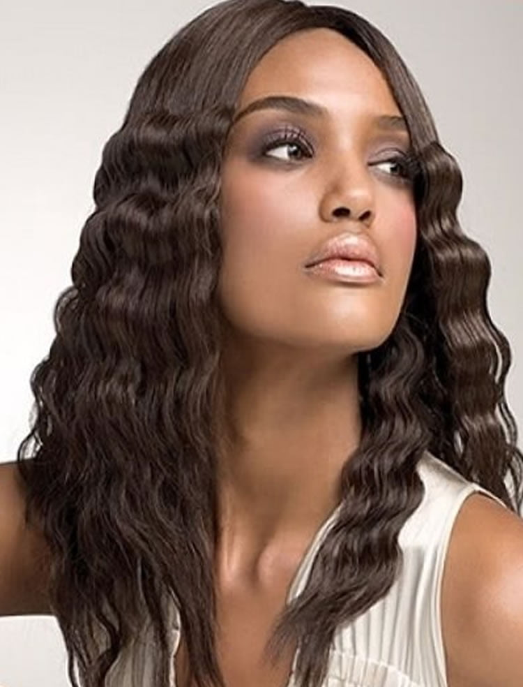 Dashing crimped hairstyles for African-American black women – HAIRSTYLES c14a9faf9