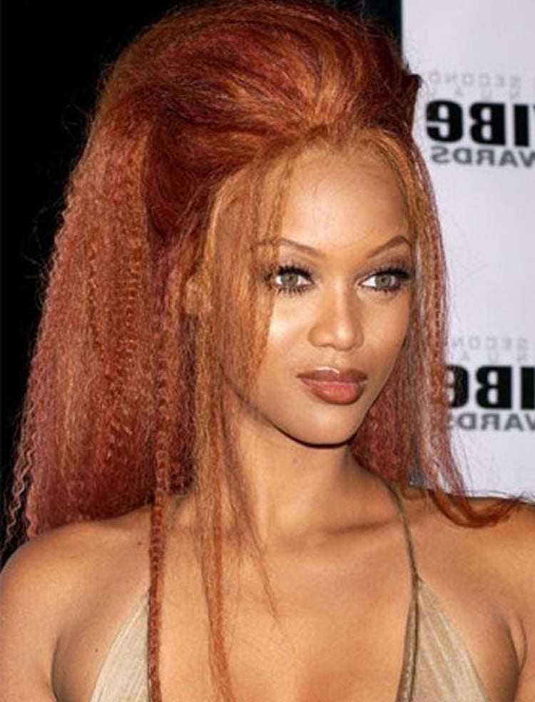 Delectable crimped hair for long faces