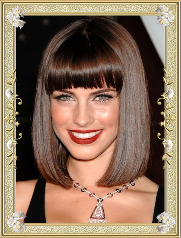55 medium hairstyles with bangs in 2017 right bang for