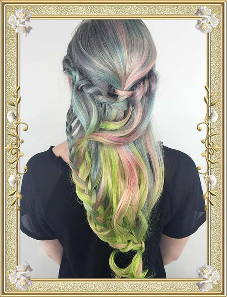 Flowing Mermaid Braids Hairstyles 2017