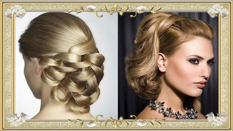 Glamorous Medium Buns Vintage Hairstyles