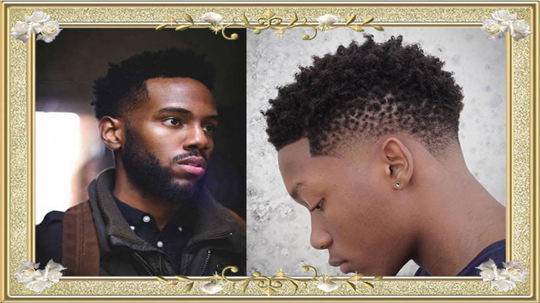Glamorous Short Hairstyles for Black Mens