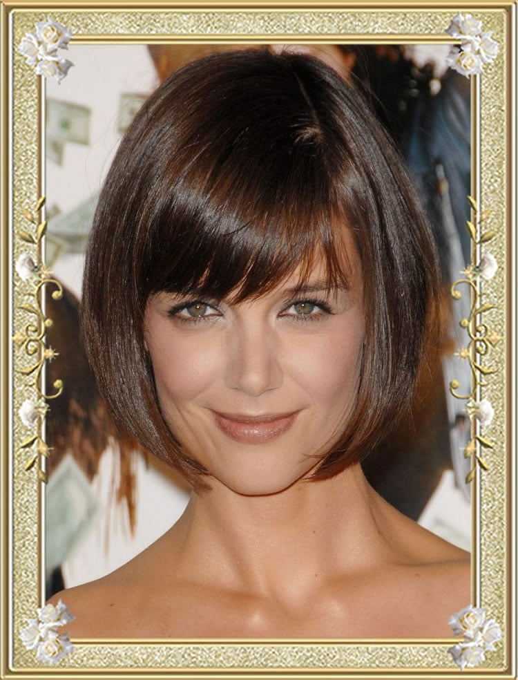 medium hair styled 55 medium hairstyles with bangs in 2017 right for 2132