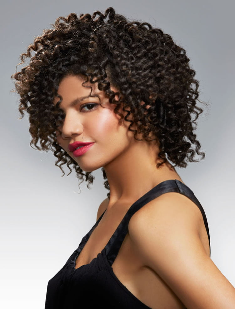 Glorious Short curly hairstyles for black american women