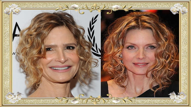 Long Curly Hairstyles for Women Over 50