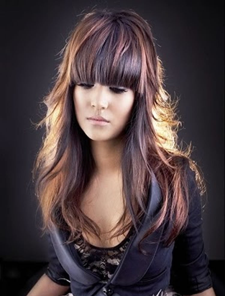 100 Cute Inspiration Hairstyles with Bangs for Long, Round, Square Faces - Page 4 - HAIRSTYLES