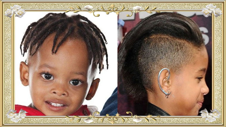 Hairstyles for Little American Black Boys