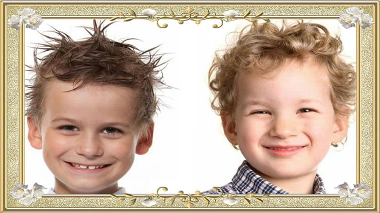 Hairstyles ideas for Unmanageable Little Boys 2017