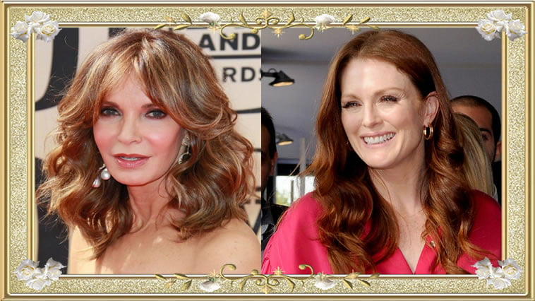 Long Hairstyles for Over 50 Women