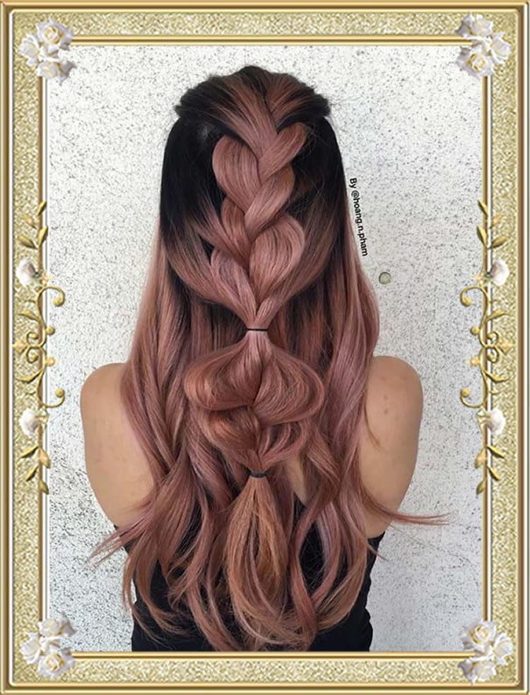 Lovely Half Up Simple Braided Hairstyles