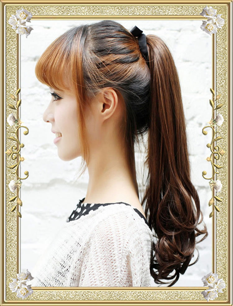 hair pigtail styles 26 ponytail hairstyles for well groomed high updo 1148